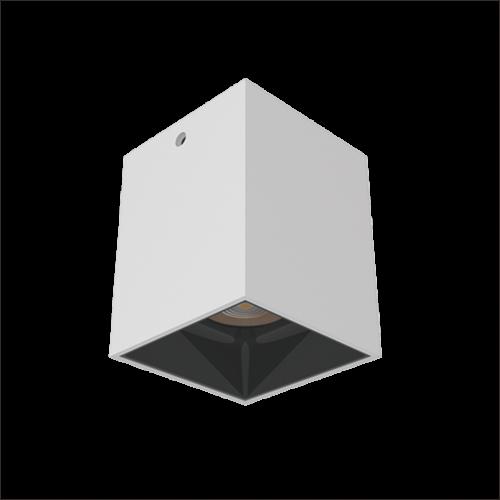 COB404方型明装筒灯